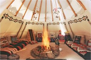 Experience Teepee Glamping at it's finest!