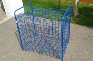 Storage Cage unit, lockable,collapsible - Indoor / outdoor use
