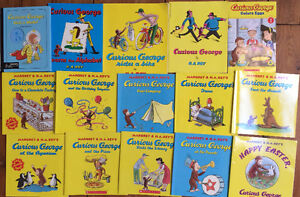 CURIOUS GEORGE BOOKS $3 each or all 15 for $30 London Ontario image 1