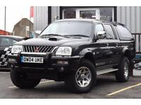 2004 Mitsubishi L200 2.5 TD Warrior Limited Edition 4dr 4 door Pickup