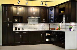 10' *10' Mocha colour cabinets $1649, limited stock offer