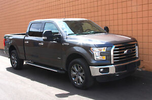 2015 Ford F150 XTR Crew 4X4 *Low KM, Nav, PanoRoof, EcoBoost!*