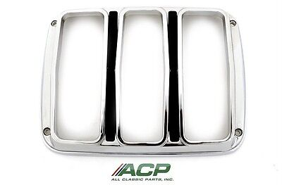 1964 1/2  65  66 Ford Mustang Tail Light Bezels  NEW   One Pair