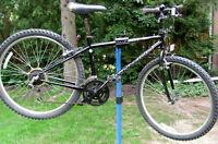Black Schwinn Frontier Mountain Bike - 18 Speeds