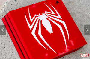 Ps4 pro spiderman edition