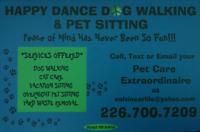 HAPPY DANCE DOG WALKING & PET SITTING
