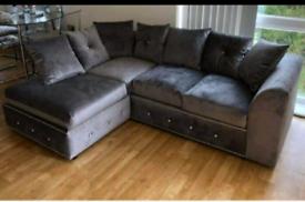 🚚 🚨BRAND NEW Plush Velvet 3+2 Sofa set or Corner suite 🚘