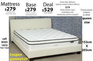 Mattress sale, Queen, king single, Excellent bed base and double Sydney City Inner Sydney Preview