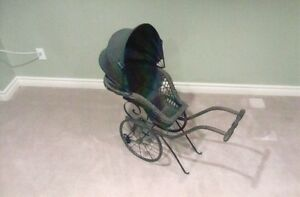 Antique Victorian Doll Pram