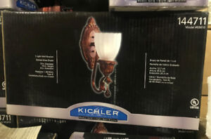 Kichler Medici Gold   1   Light Wall Bracket
