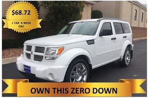 2011 Dodge Nitro 4x4   ONLY  $68.72 A WEEK + TAX OAC