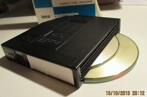 6-Disc CD Cartridge Magazine for BMW, Mercedes, Volvo, etc...