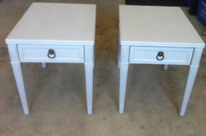 SHABBY CHIC ENd TABLES!!!!!