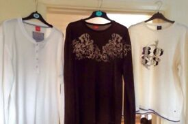 3 Hugo boss tops all original and unworn size large
