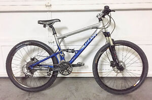 Giant Anthem 2 full suspension mountain bike | hydraulic disc br