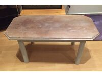 LARGE SHABBY CHIC STYLE COFFEE TABLE