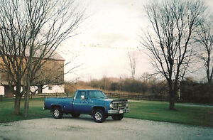 (Reduced Price)1976 Chevy Scottsdale 4x4 Pickup Truck
