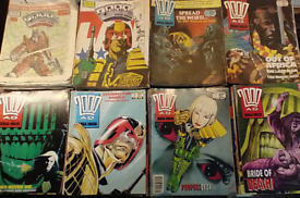 2000AD Featuring Judge Dredd Prog 487-700 (Job Lot of 200 or 4 years)