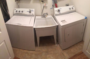 SALE PENDING Kenmore Washer and Dryer - Less than 4 yrs old