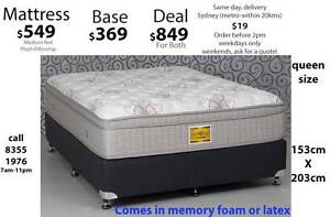 Mattress Sale - Latex, Memory foam, queen, king, double, single Ultimo Inner Sydney Preview