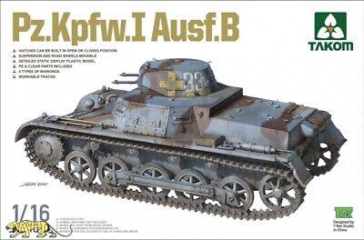 Takom 1010 Panzerkampfwagen I Ausf. B - 1:16