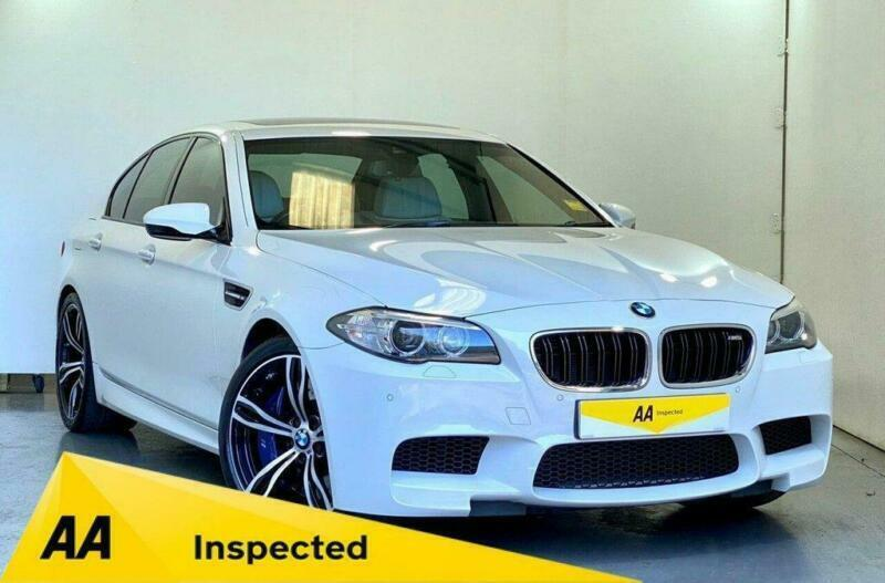 "2014 14 BMW M5 4.4 M5 4D 553 BHP SUNROOF + H&K +HUD+SOFT-CLOSE+ 20"" ALLOYS"