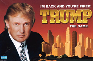 Trump the Board Game-I'm back and you're fired. Parker Brothers