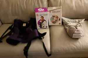 $150 Ergobaby Carrier and Infant Insert- Perfect Condition