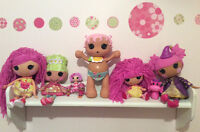 Perfect condition Never played with Lalaloopsy Lot