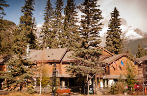 $195 weekly rate available at the Banff International Hostel!