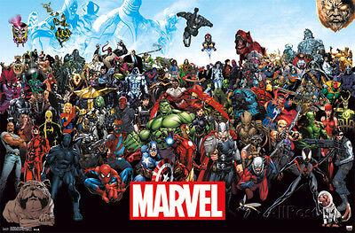 Marvel - The Lineup 15 Comic Poster Print, 34x22