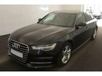 2016 BLACK AUDI A6 2.0 TDI ULTRA S LINE DIESEL AUTO SALOON CAR FINANCE FR 75 PW