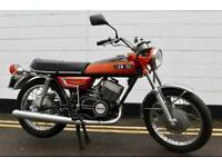 1972 Yamaha YR5 350cc Matching Engine and Frame Numbers