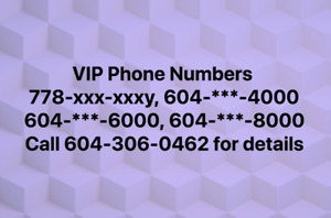 VIP Phone numbers of your own choice , Call O2 Computers