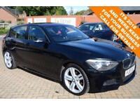 2013 13 BMW 1 SERIES 2.0 120D M SPORT 5D AUTO 181 BHP DIESEL
