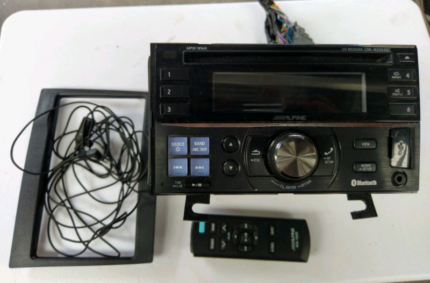 Alpine double din CD player Endeavour Hills Casey Area Preview