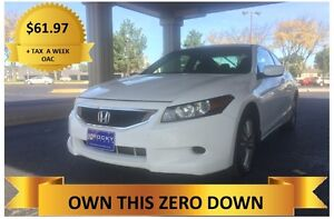 2010 Honda Accord  ONLY  $61.97 A WEEK + TAX OAC Windsor Region Ontario image 1