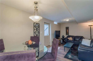 Separate Entrance 2 Bedroom Basement with kitchen