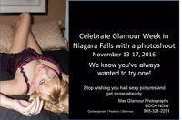 Treat Yourself! Glamour Photoshoot in Niagara Falls