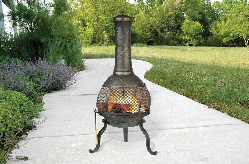 how to keep a chiminea burning