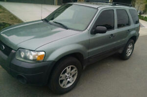 2006 Ford Escape xls 2.3L 5 speed