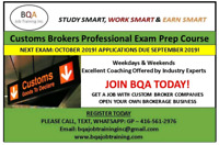 START STUDYING NOW CUSTOMS EXAM PREPARATION COURSE FOR 2019