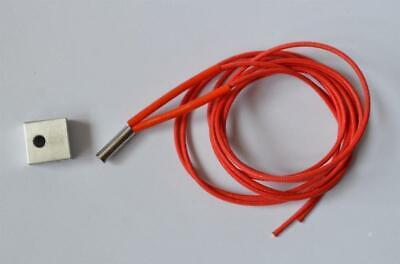 New 1pc Heat Block 1pc Cartridge 3d Printer Makerbot Reprap Mk7mk8 Hot End