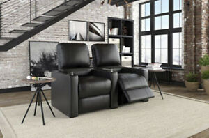 New - Octane Cloud 2-Seat Bonded Leather Power Recliner