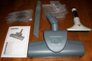 Brosse à tapis Turbo VB1000 par Zelmer + accessoires aspirateur