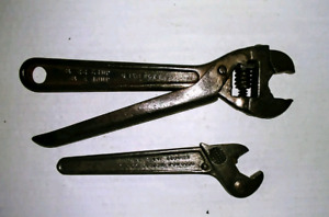"""2 Vintage Wrenches. 2 Plumb Bobs. 12""""Level"""