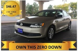 2012 VW  JETTA    LOW PAYMENTS!