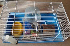2 Cages pour Hamster ou autres