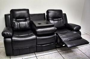 Brand New Bonded Leather Reclining Couch Set! Rustic Chest, Dresser & Mirror Set! Night Stands,Tables and more!