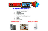 Plumbing, Heating, Air Conditioning and Fireplaces